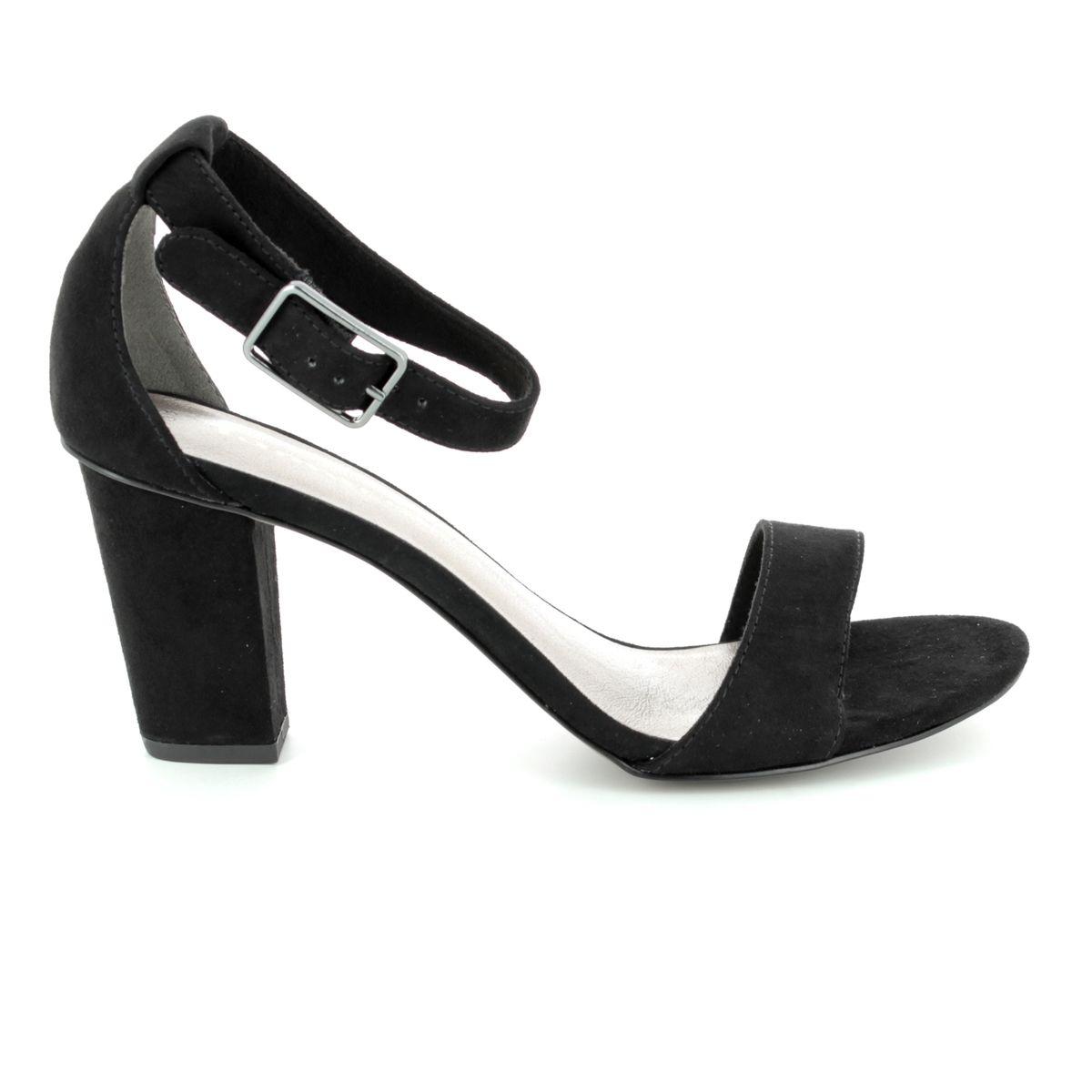 26a682e3a0aa Tamaris Heeled Sandals - Black - 28397 20 001 HEITI