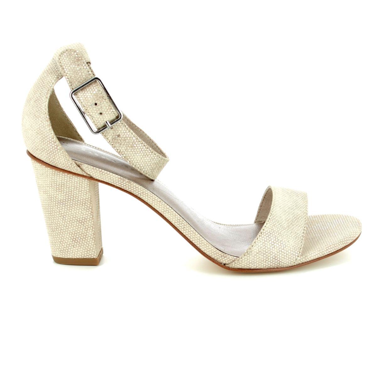 2e2c436b1592 Tamaris Heeled Sandals - Ivory - 28397 20 454 HEITI