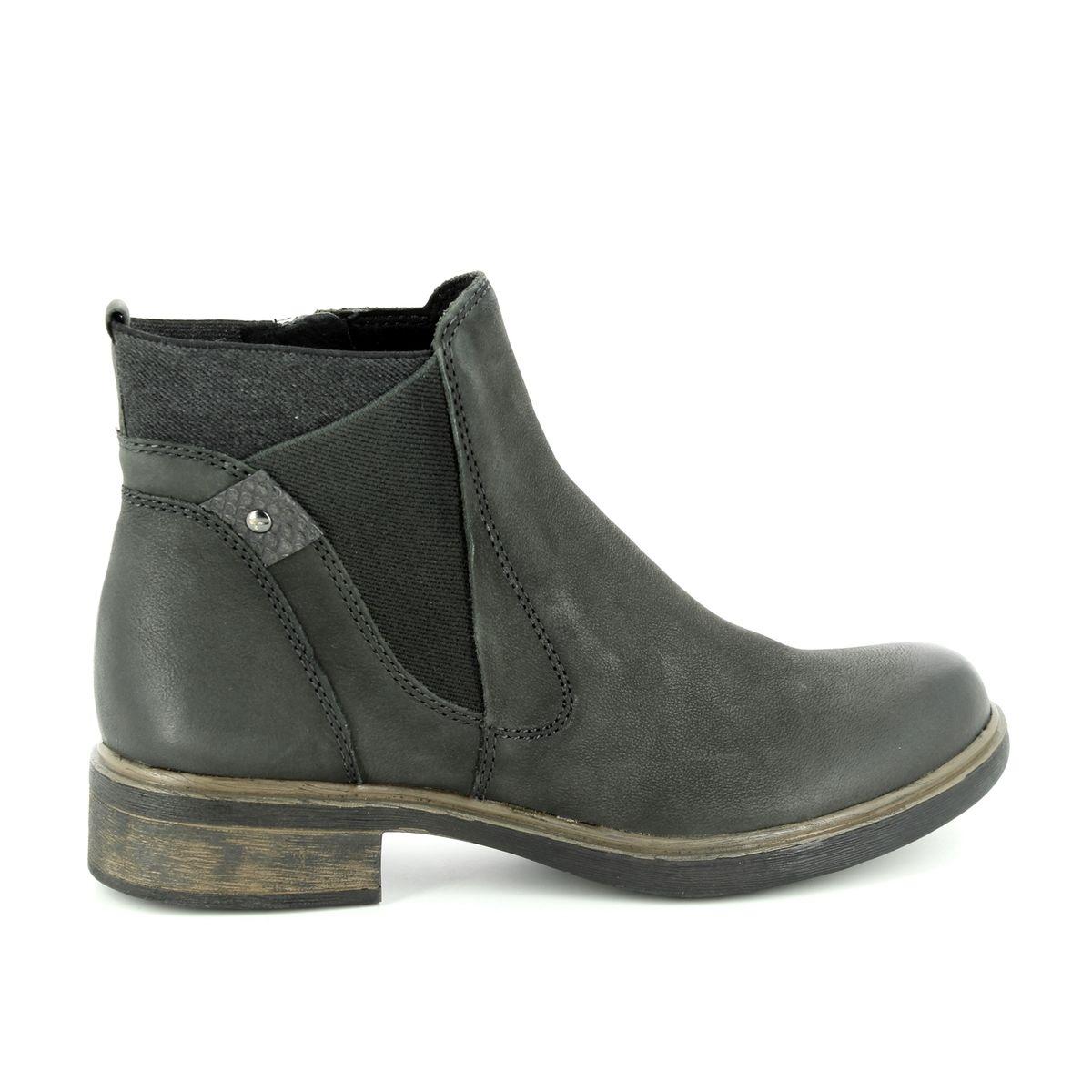 2c4d3ac35a8554 Tamaris Chelsea Boots - Khaki Leather - 25317 21 712 HELIOBAND 85
