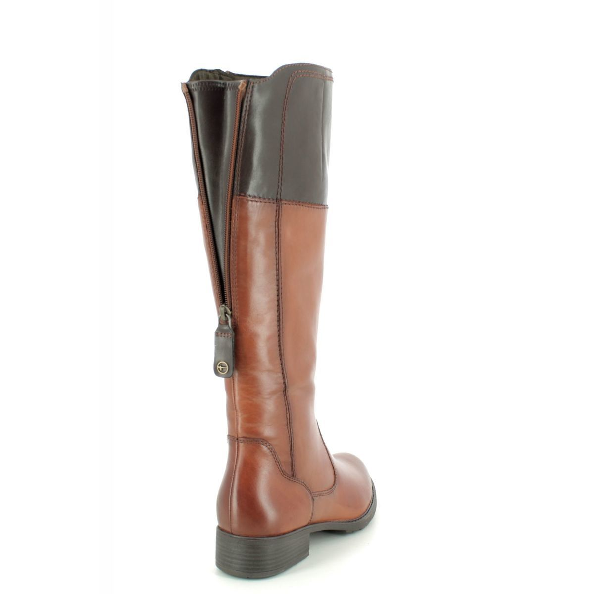 25508-23-378 Tan Leather knee-high boots