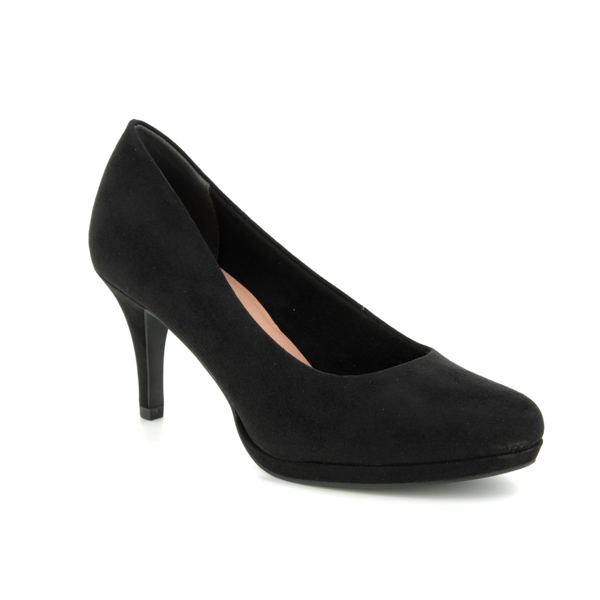 Tamaris High Heel Pumps black stripe | Black