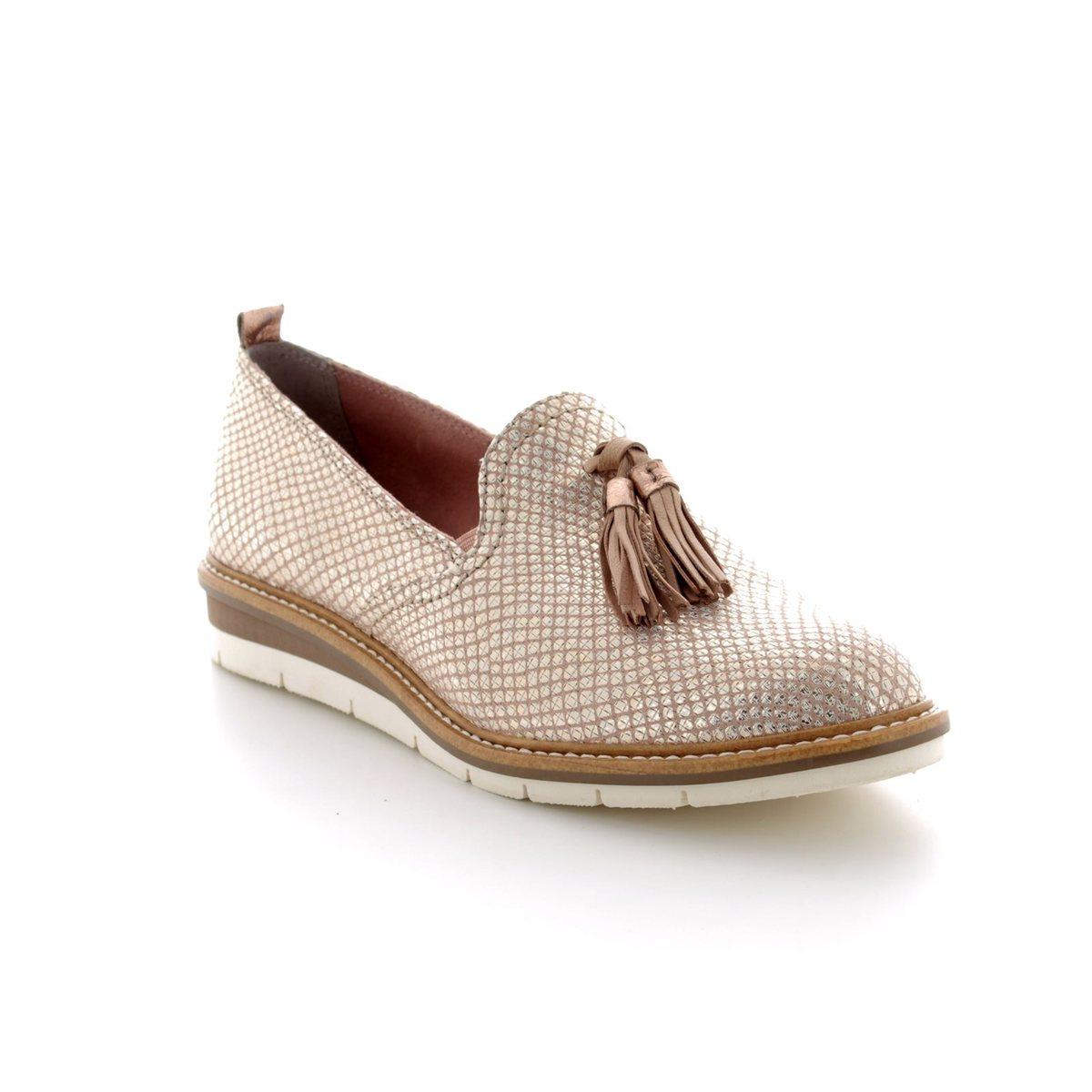 Tamaris Kela 24300-20426 Beige multi loafers 3e915d25de