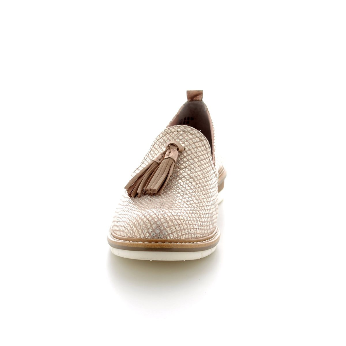 497ea78a Tamaris Kela 24300-20426 Beige multi loafers