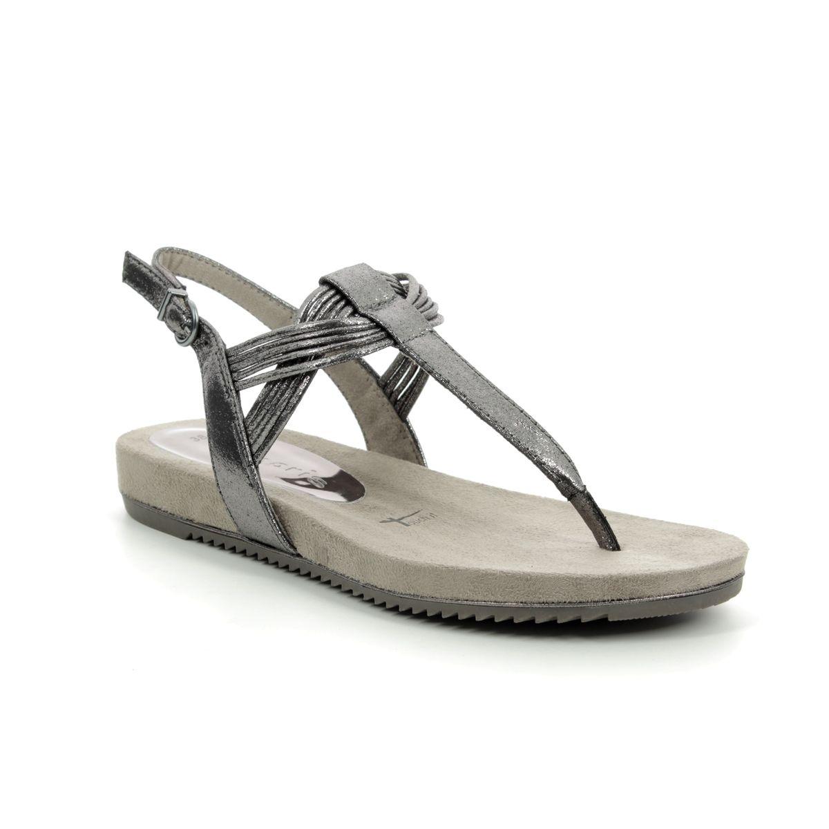 19bc516dd3b Tamaris Flat Sandals - Metallic - 28107/22/915 LOCUSTI