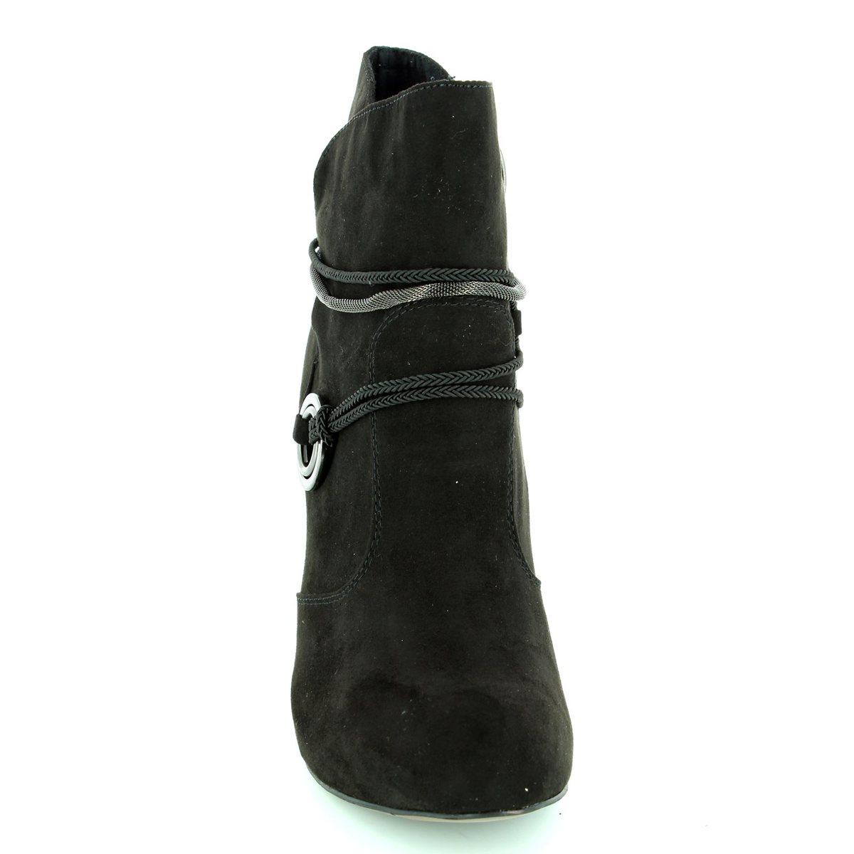 tamaris lycorbu 25372 001 black ankle boots. Black Bedroom Furniture Sets. Home Design Ideas