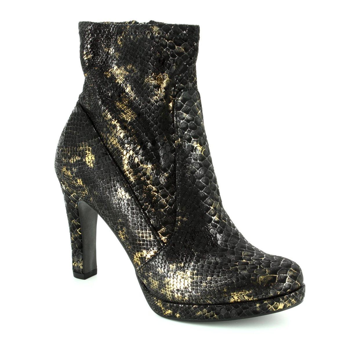 tamaris lycrobling 25365 006 black ankle boots. Black Bedroom Furniture Sets. Home Design Ideas