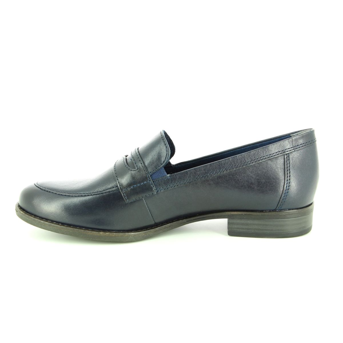 c7281676 Tamaris Loafers - Navy leather - 24215/21/805 MALIMOCC