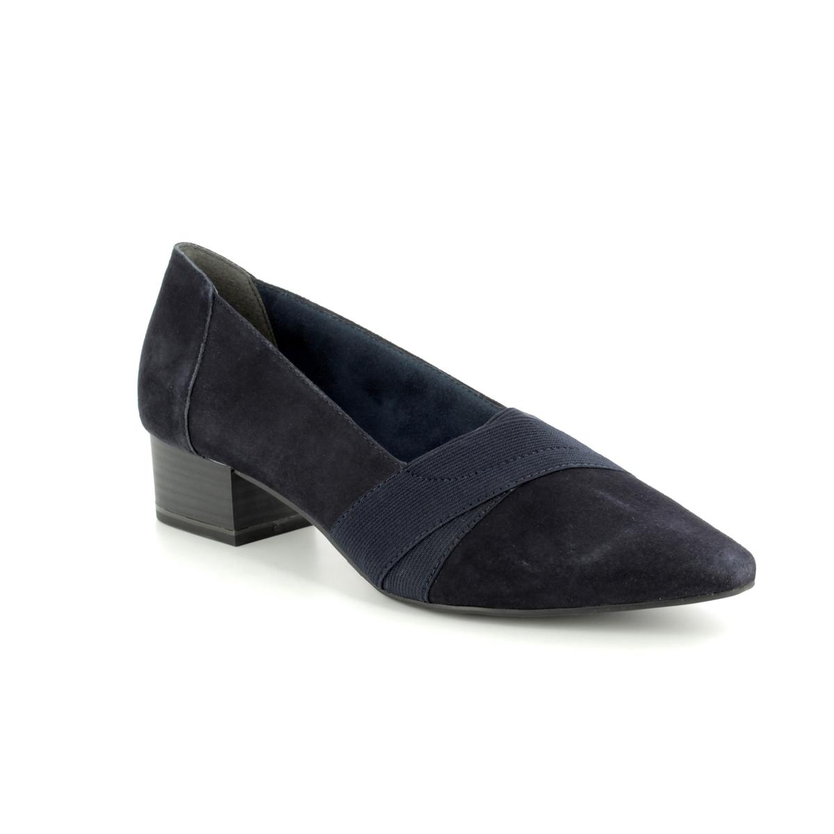 a1928a30059046 Tamaris Heeled Shoes - Navy - 24418 30 805 MUNG