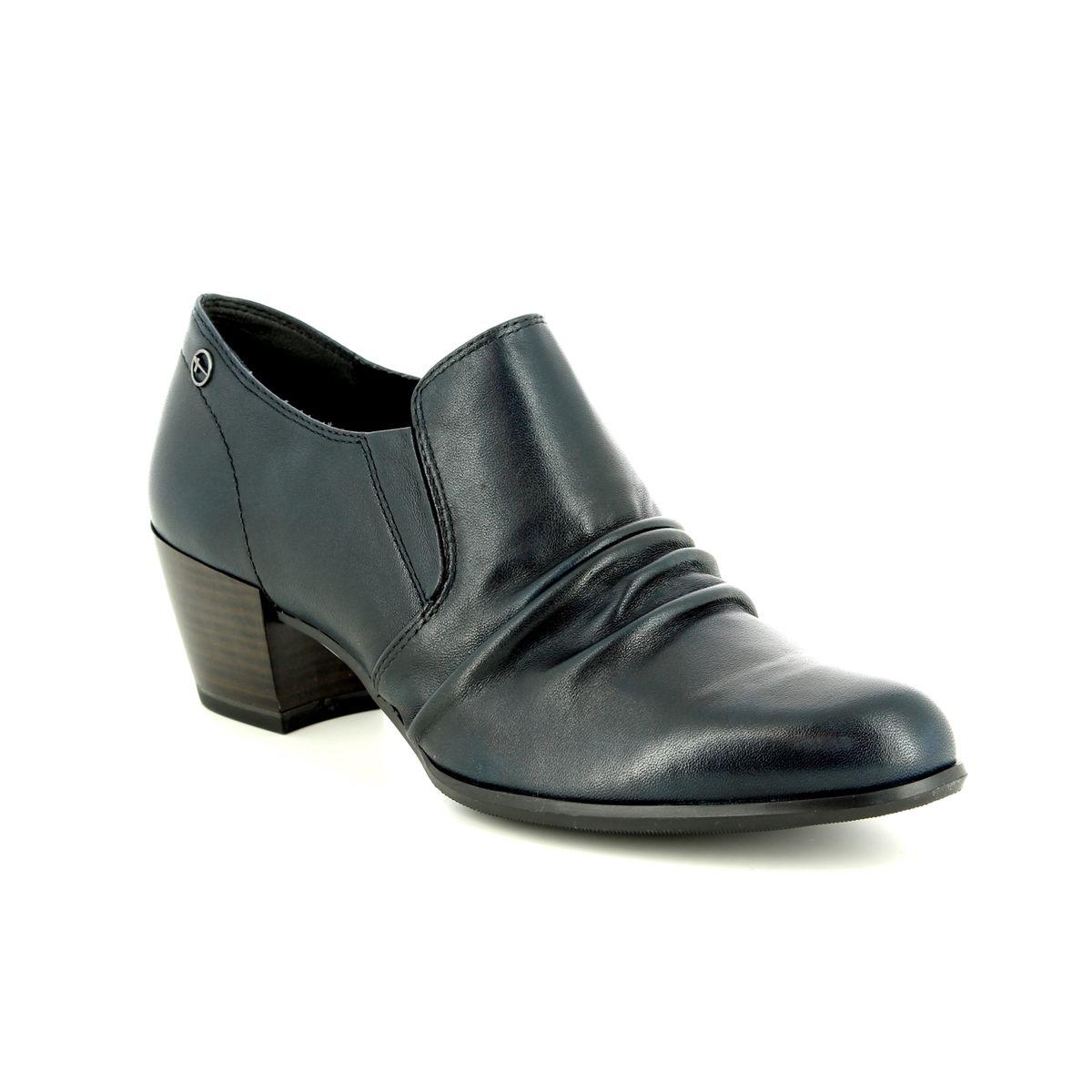 Tamaris Shoe-boots - Navy leather - 24408 21 805 OCIMUM 2d77c8f85c