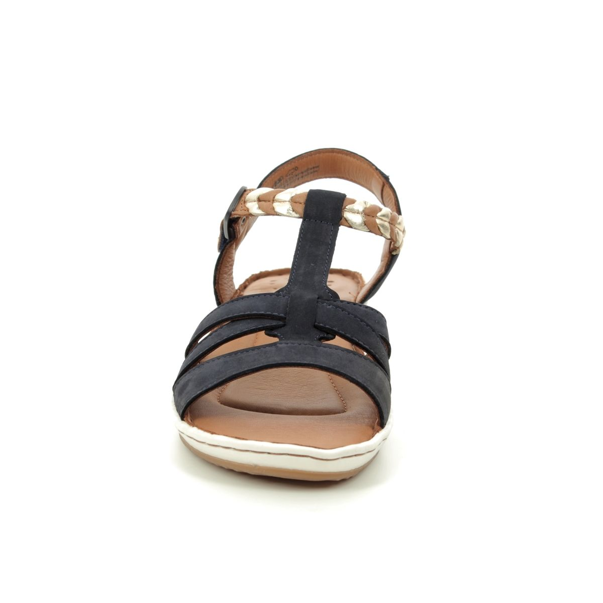 890 Sandals Salka 28603 Navy 22 Leather Tamaris jAR45L