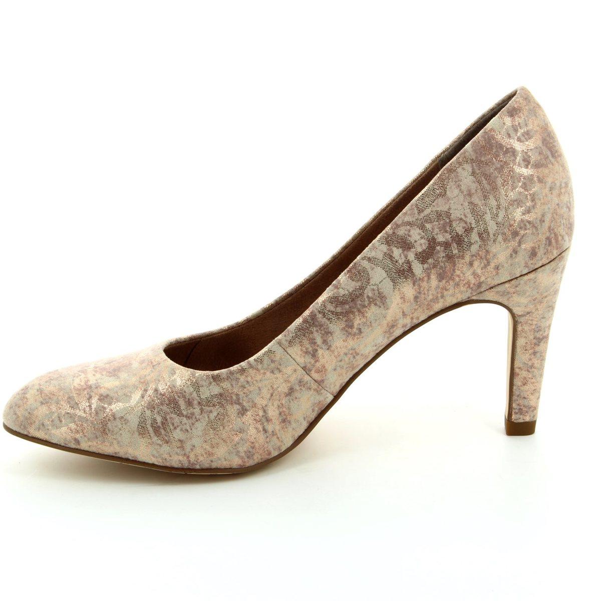 tamaris suria 22450 953 gold high heeled shoes. Black Bedroom Furniture Sets. Home Design Ideas