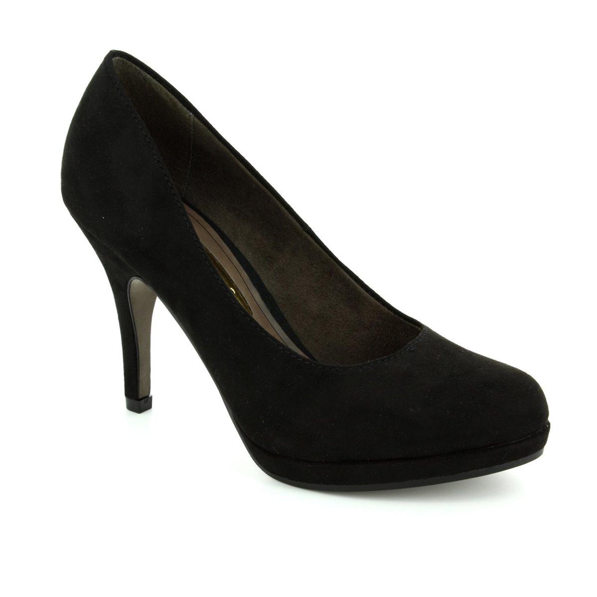 tamaris taggia 22407 001 black high heeled shoes. Black Bedroom Furniture Sets. Home Design Ideas