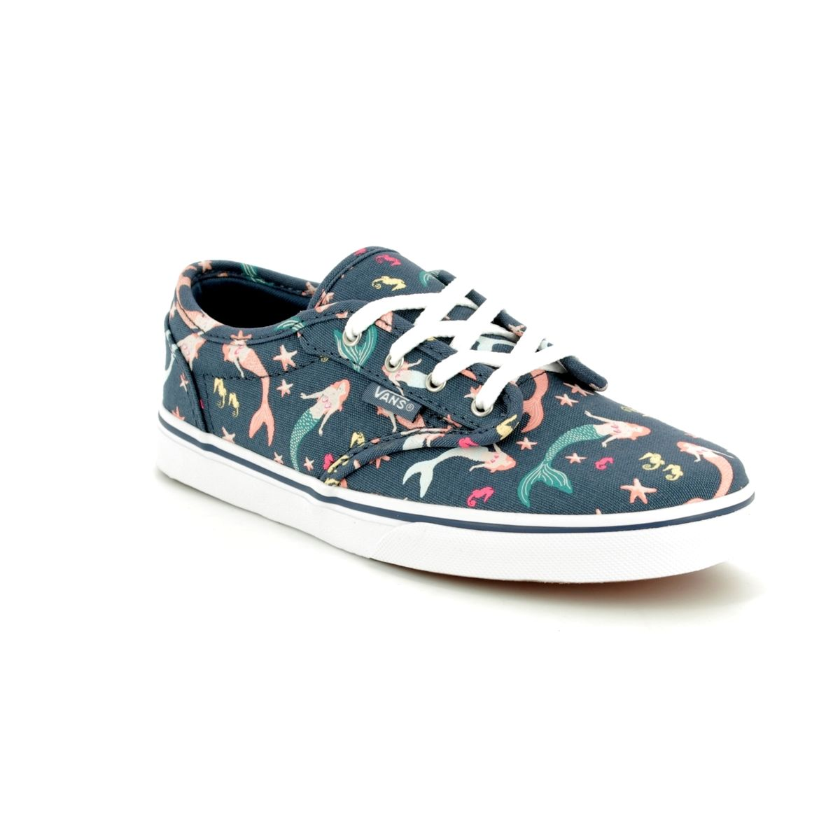 4af95c61829f Vans Trainers - Blue multi - VA38DUQ5J ATWOOD LOW YOUTH