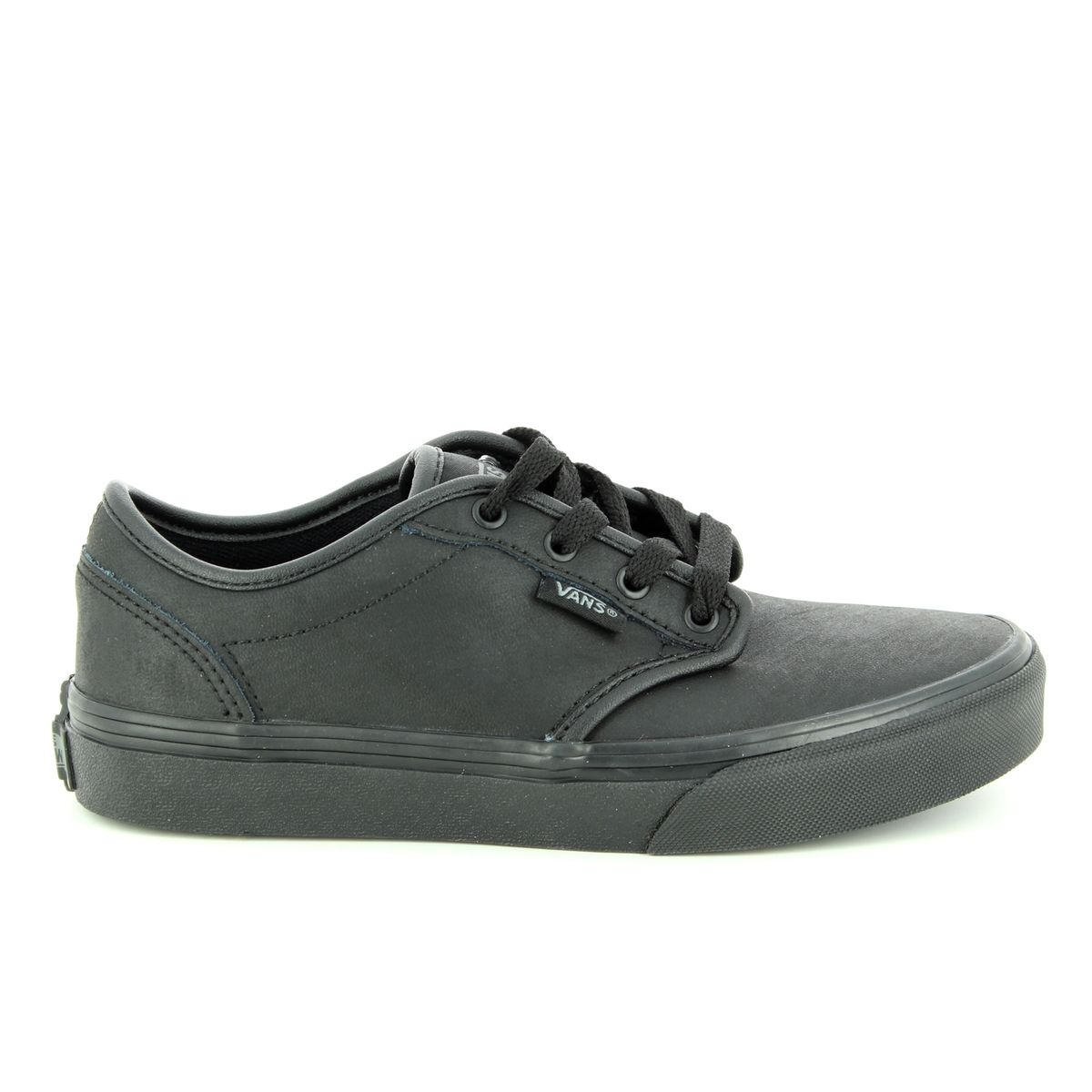 075f4e4ce Vans Trainers - Black - V003Z9KNX ATWOOD YOUTH LEATHER