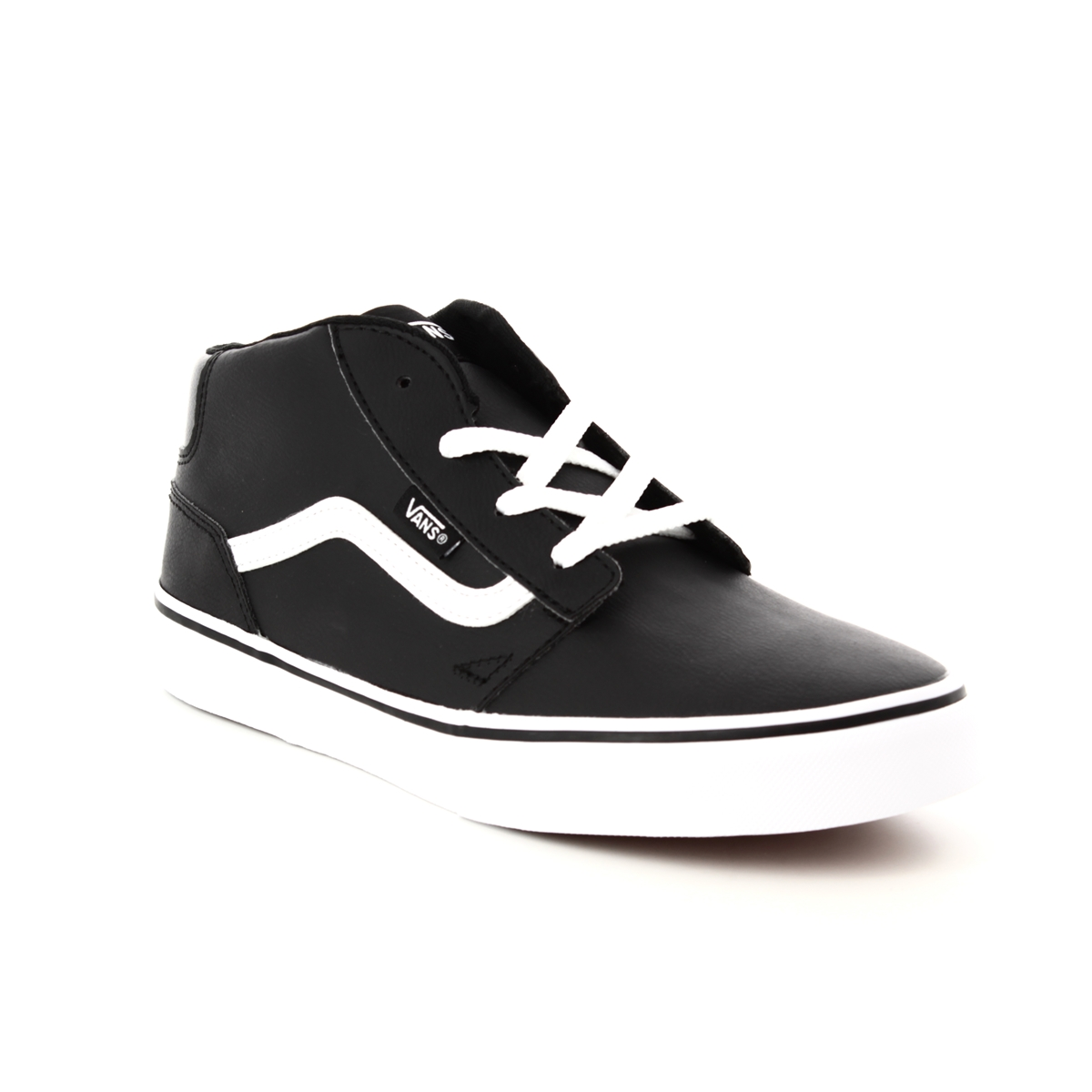 low priced cacf8 319c2 Vans Trainers - Black - VA38J4U0M 35 CHAPMAN MID SL