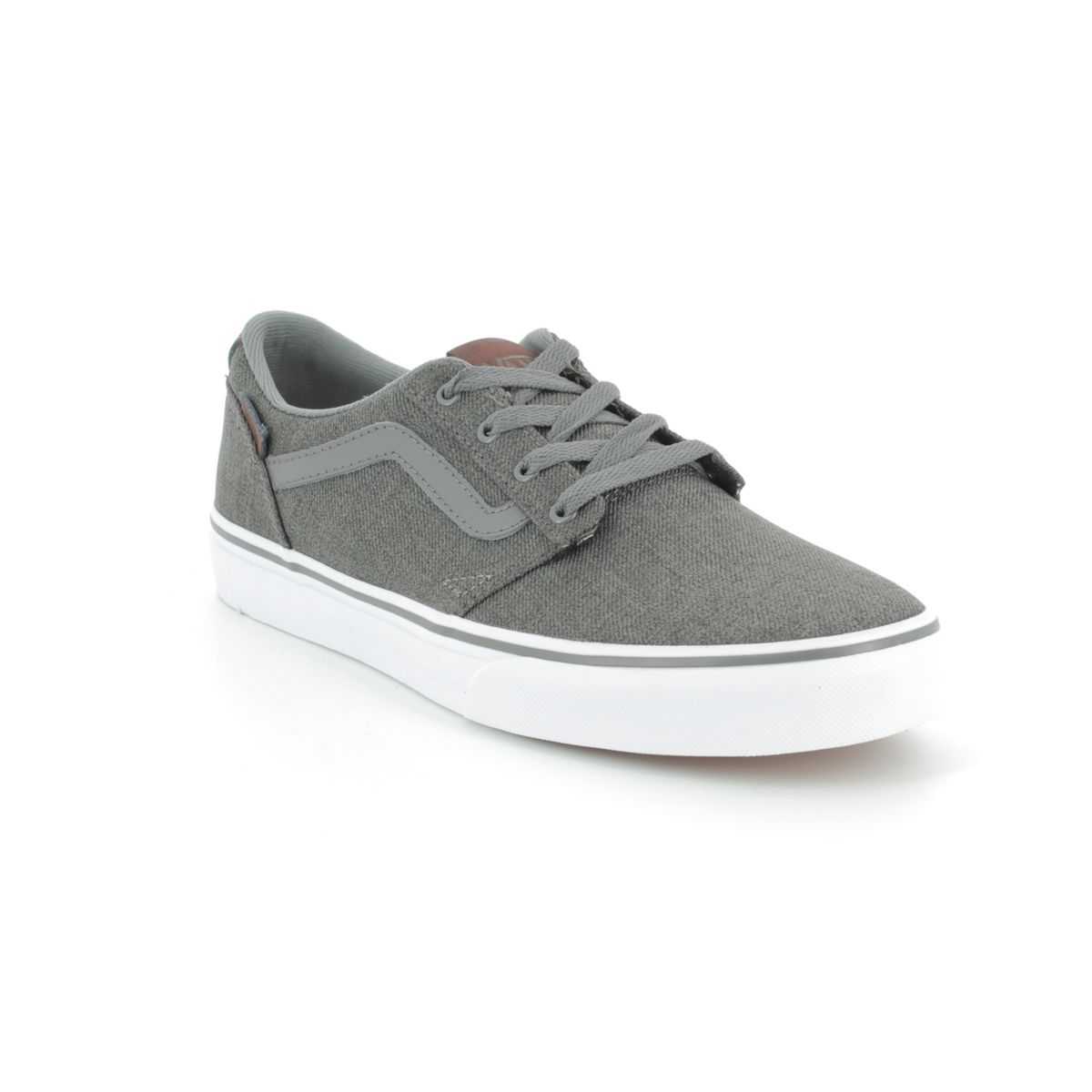 db5978672 Vans Trainers - Dark Grey - VA38J2Q2N CHAPMAN STRIPE