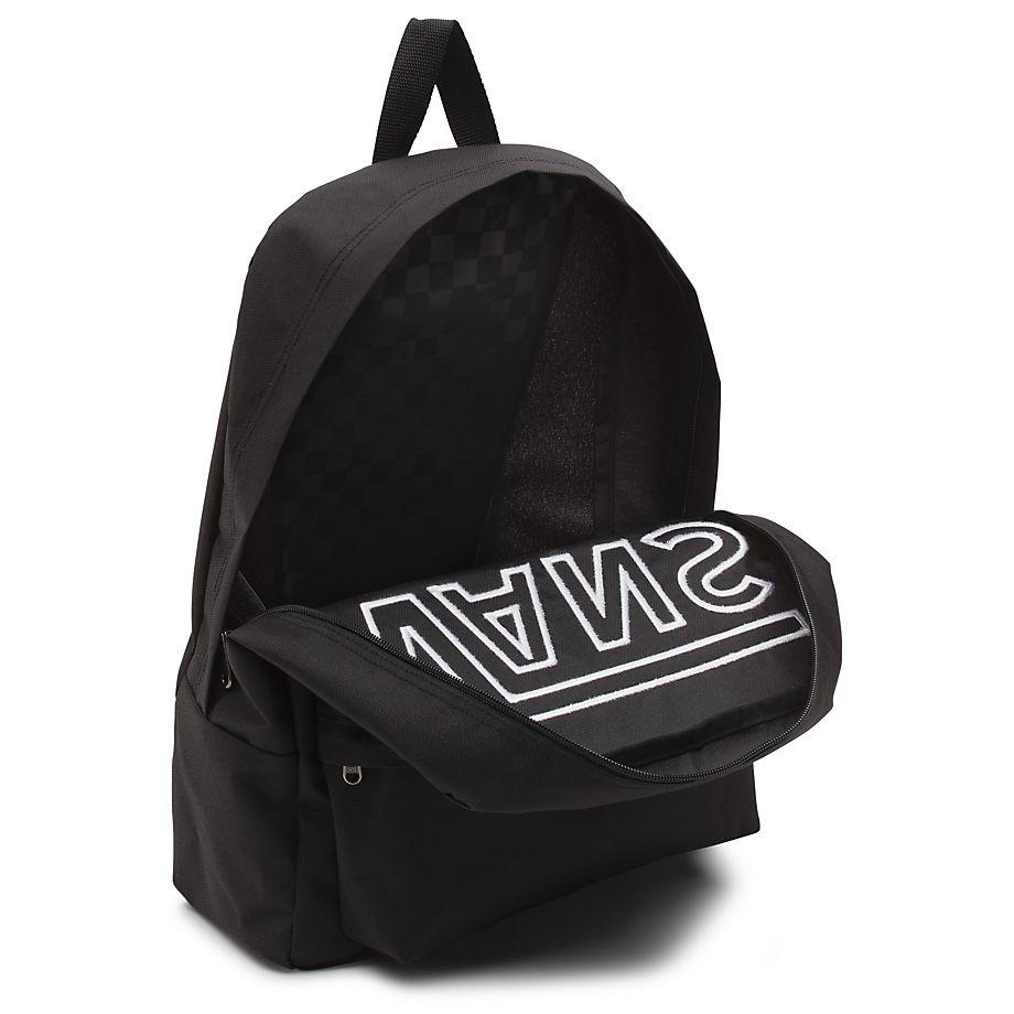 ff4494e7e6 Vans Backpacks And Bags - Black multi - V00ONIY28 32 OLD SKOOL BACKPACK