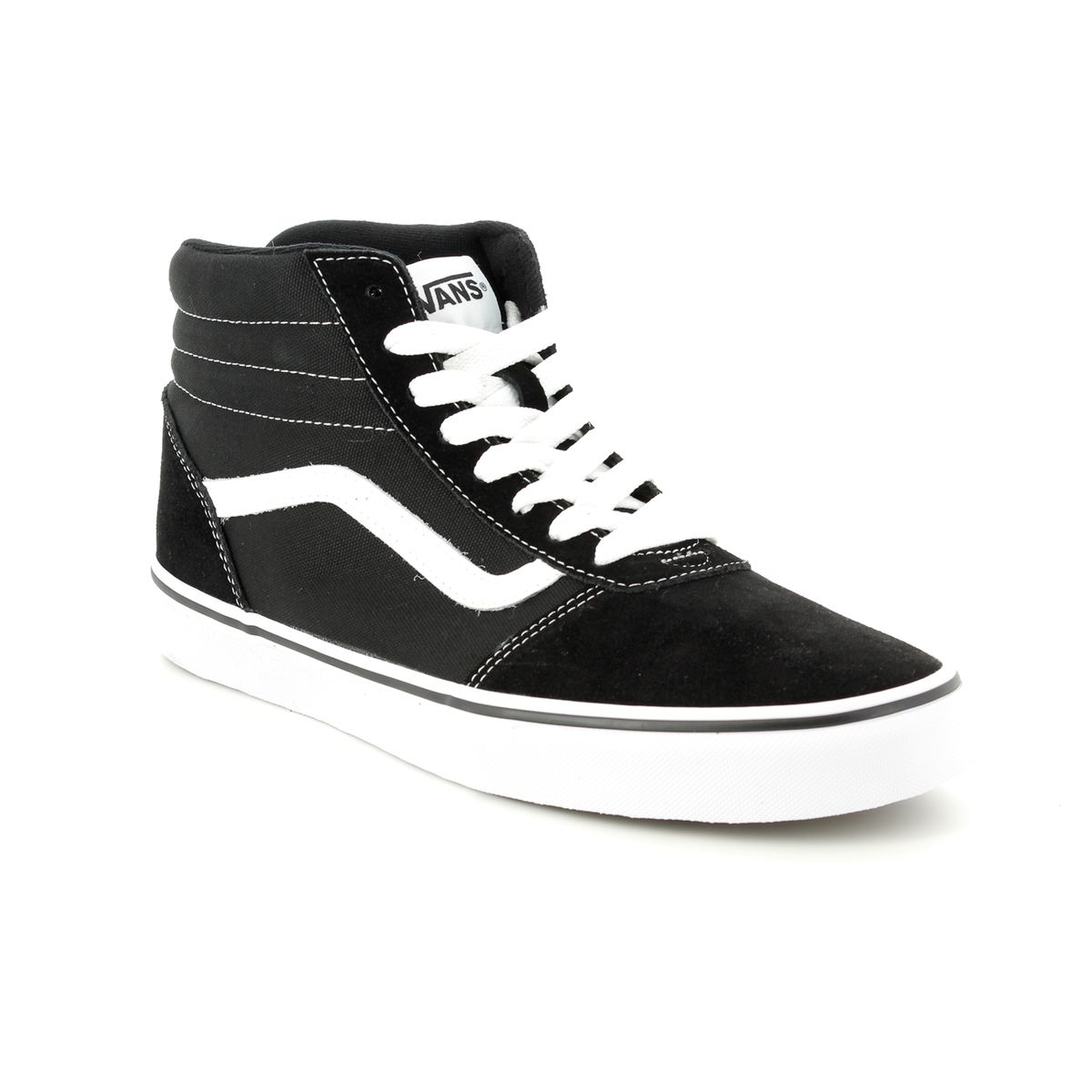 f2431e53a1bd Vans Trainers - Black - VA36ENC4R 30 WARD HI TOP