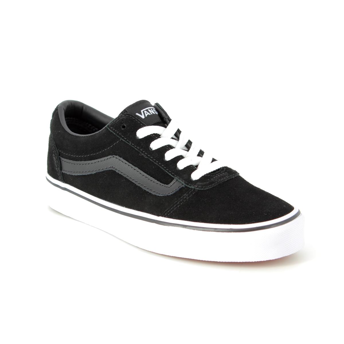 a0ddf6cd75c Vans Trainers - Black suede - VA3IUN0XT 30 WARD