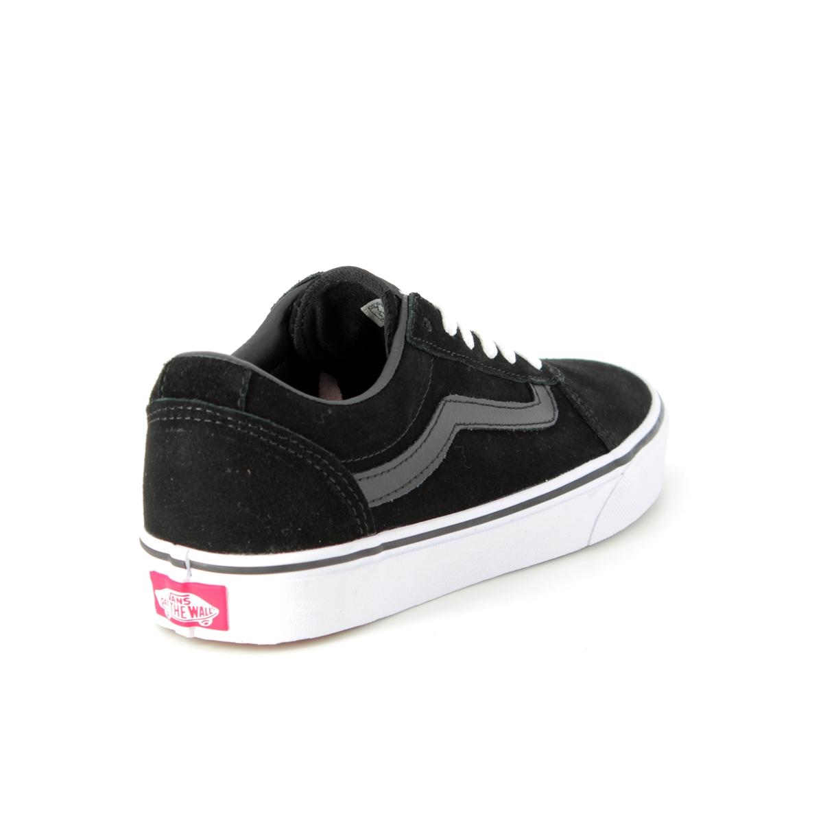 bd7978cb1be Vans Trainers - Black suede - VA3IUN0XT 30 WARD