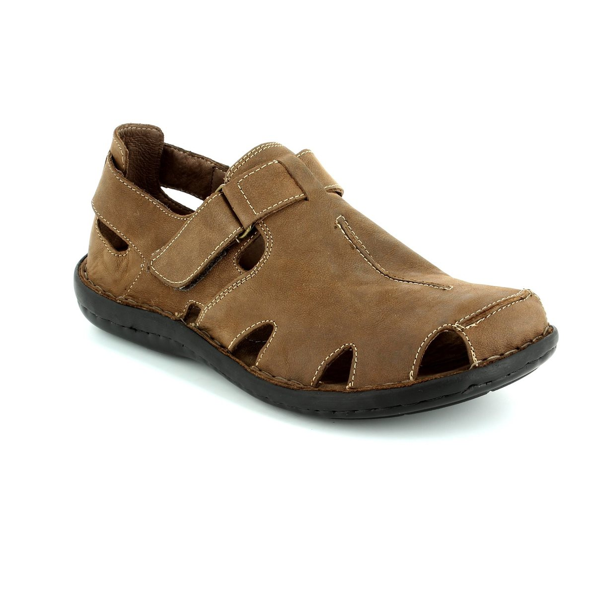 walk in the city closed 7107 11120 brown sandals