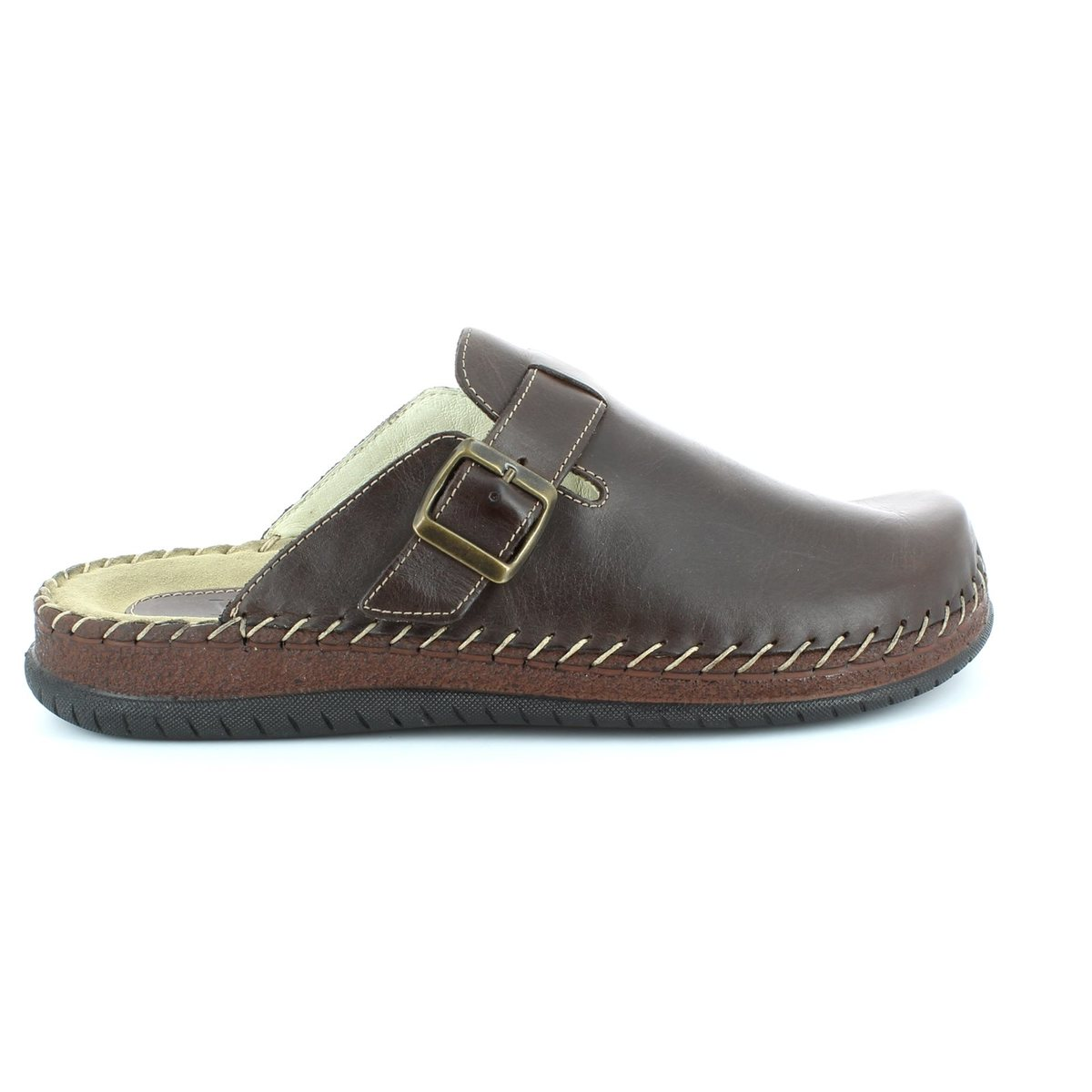 walk in the city conform 9289 19102 brown waxy house shoe