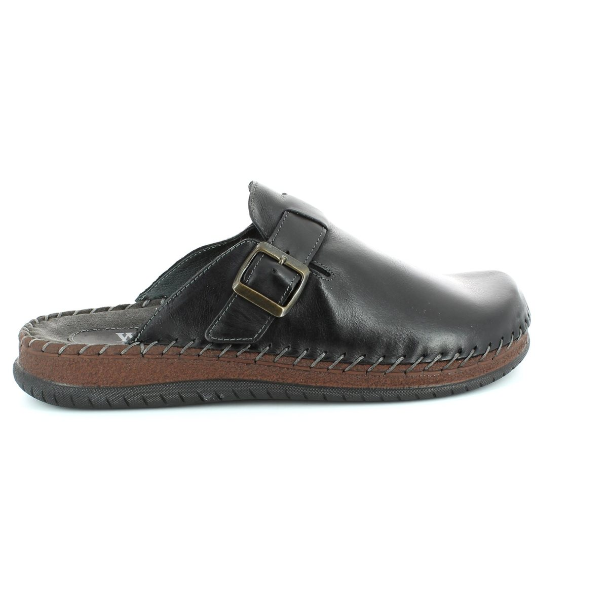 walk in the city conform 9289 19103 black waxy house shoe
