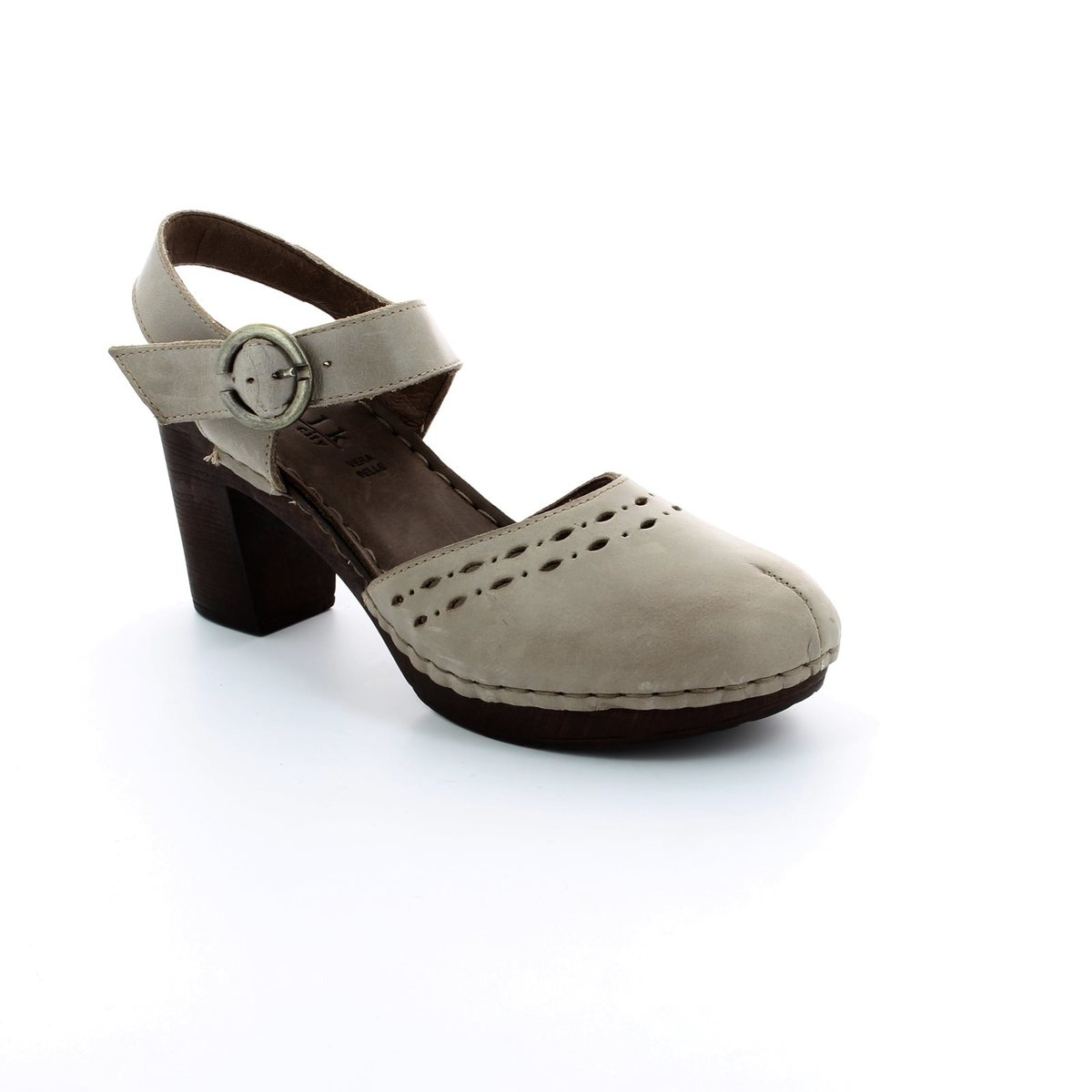 walk in the city woody 4572 34101 light grey heeled shoes