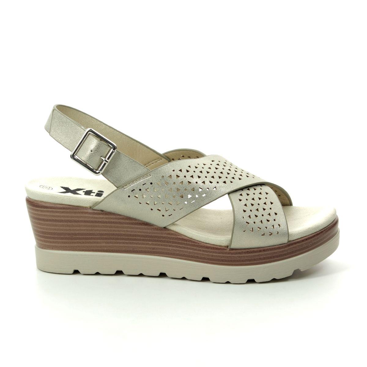 6c604183ea6 XTI Wedge Sandals - Gold - 04886202 MARITSA
