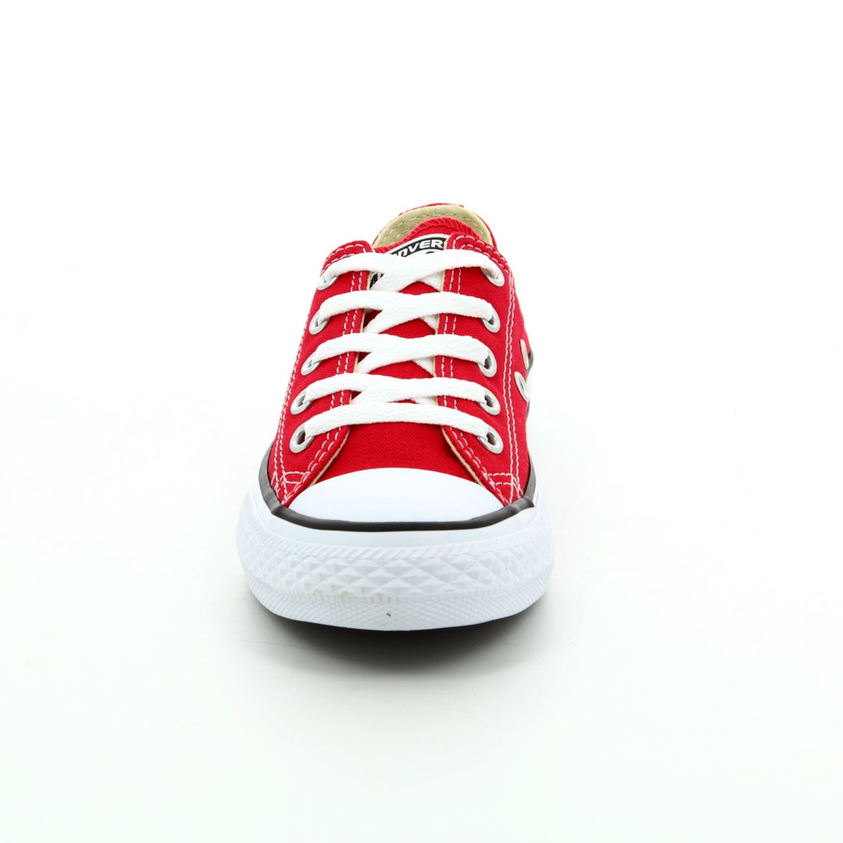 818c077ad94c Converse 3J236C Chuck Taylor All Star OX Youth Red Kids Trainers